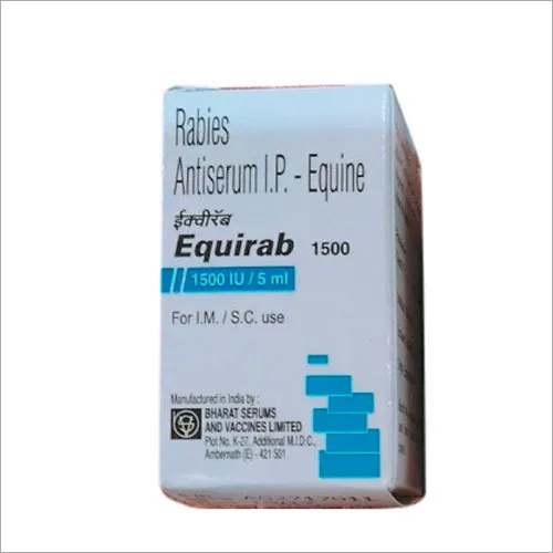 EQUIRAB 1500IU INJECTION