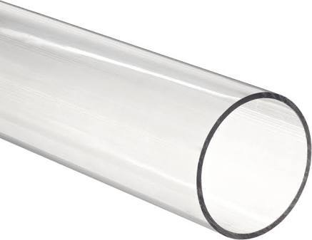 Polycarbonate pipe clear transparent
