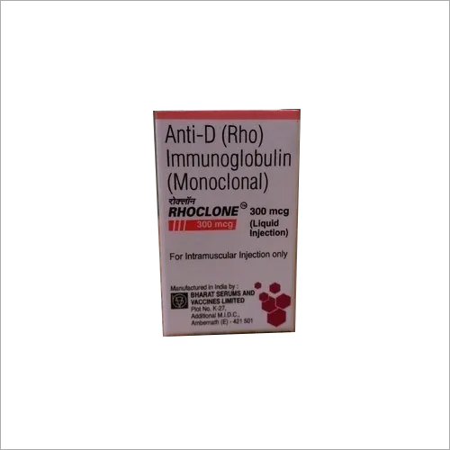 Rhoclone 300mcg Immunoglobulin Injection
