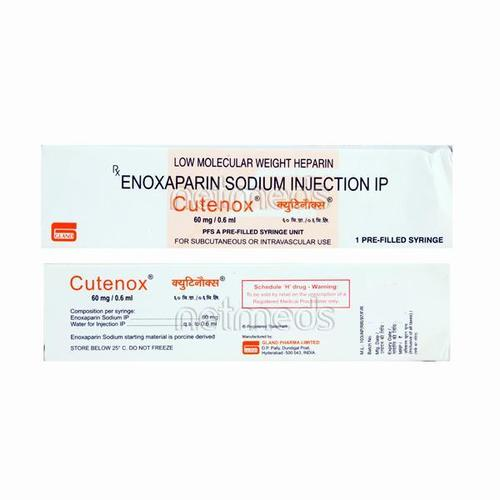 Cutenox 60mg Enoxaparin Sodium Injection