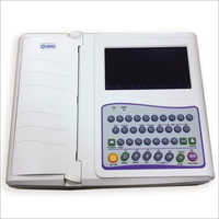 ECG Machine (Make Nidek Model 712) 12 Channel