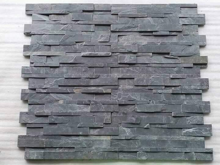 Black Slate Stone Wall Cladding