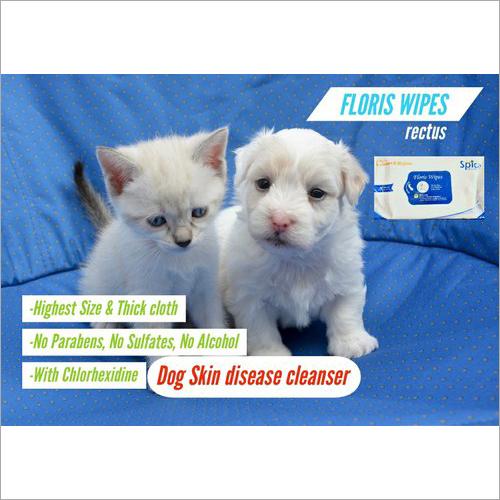 Dogs Skins Floris Wipes
