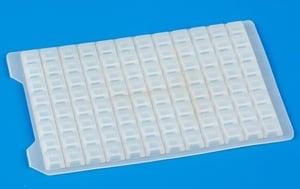 Silicone Sealing Mat For 96 Square Well Plate