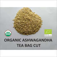Organic Ashwagandha Tea Bag Cut