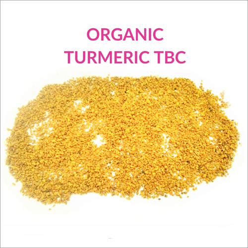 Organic Turmeric Tea Bag Cut