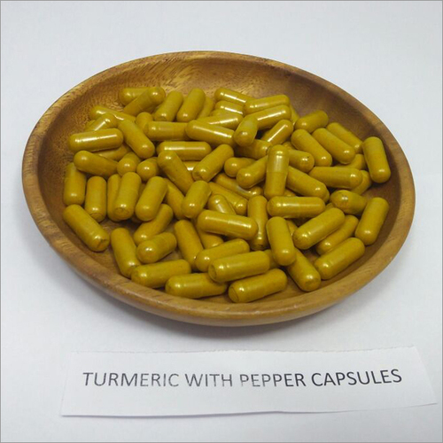 Organic Turmeric with Pepper Capsules