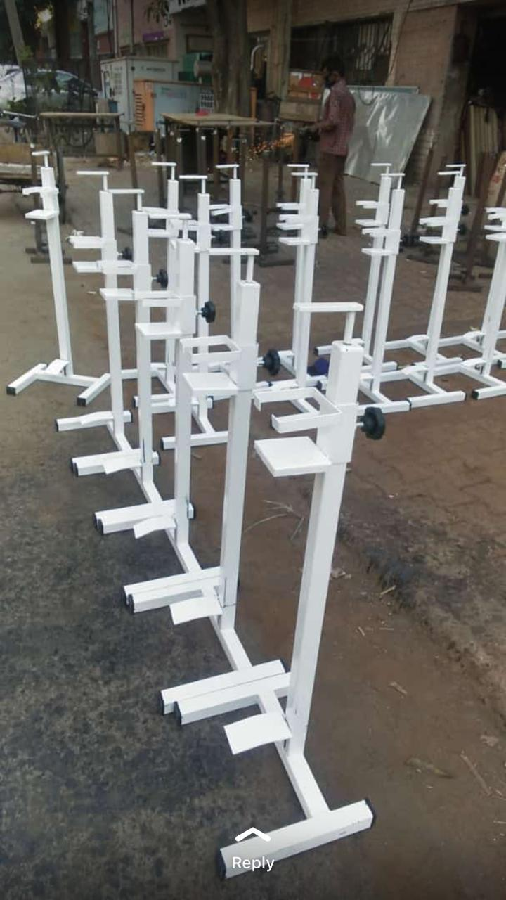 Metal Foot Press Sanitizer Dispenser