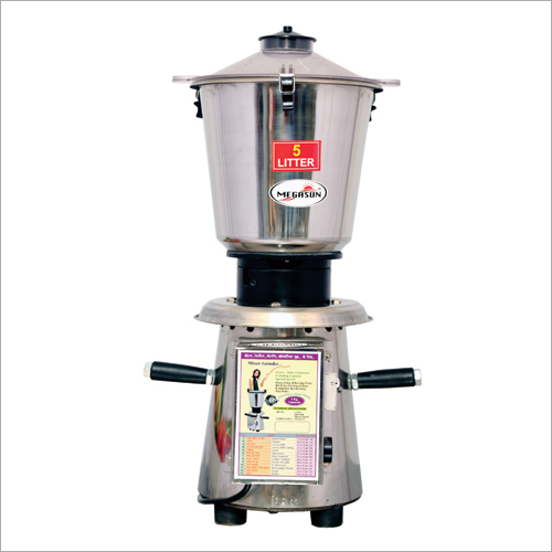 1.5 HP 5 Ltr Mixer Grinder with Pipe