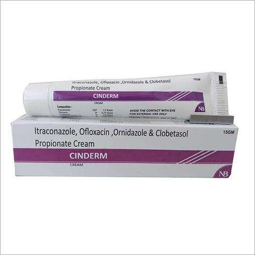 15 gm Itraconazole Ofloxacin Ornidazole And Clobetasol Propionate Cream