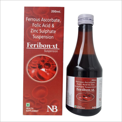 200 ml Ferrous Ascorbate Folic Acid And Zinc Sulphate  Suspension