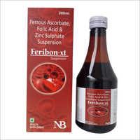 200 ml Ferrous Ascorbate Folic Acid And Zinc Sulphate  Suspension