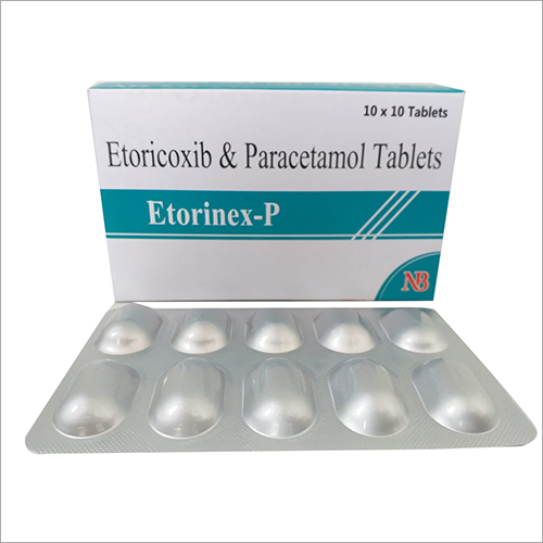 Etoricoxib And Paracetamol Tablets