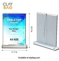 Tabletop Display Standee A3