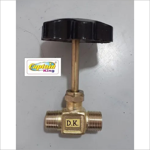 Brass LPG Long Spindle NC Valve 120 Gram