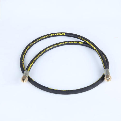 Black LPG Hose Pipe