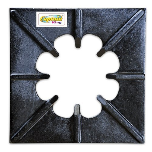 Extra Heavy 10x10 Inches Commercial Cast Iron LPG Pan Support