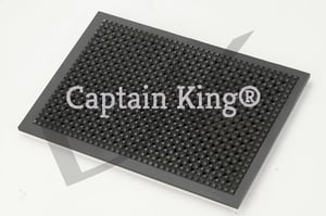 Cast Iron Puffer Plate 10x15 Inches