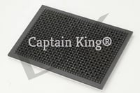 Cast Iron Puffer Plate 12x12 Inches