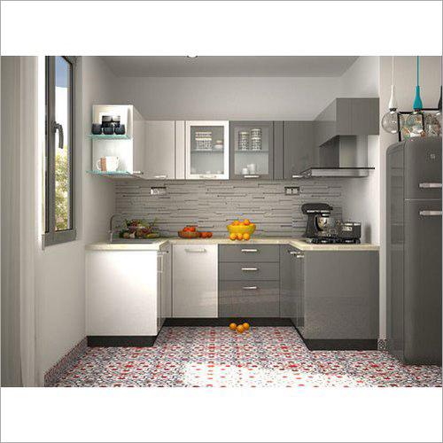 PVC Modern Modular Kitchen