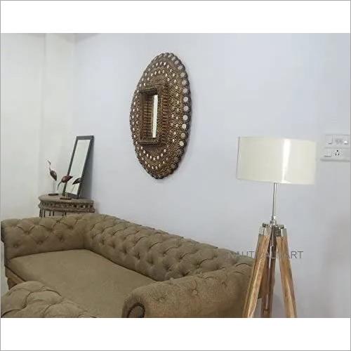 NAUTICALMART Designer's Vintage Classical Shiny Finish Tripod Floor LAMP