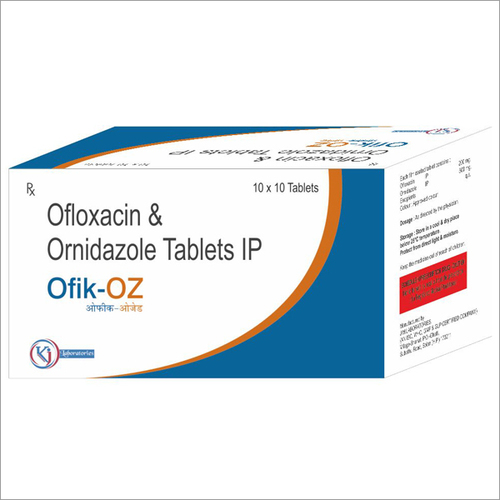Ofloxacin + Ornidazole Tablet