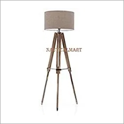 Brown Nauticalmart Designer Vintage Classic Teak Wood Tripod Floor Lamp At Price 299 Usd Piece In Roorkee Id C6140120