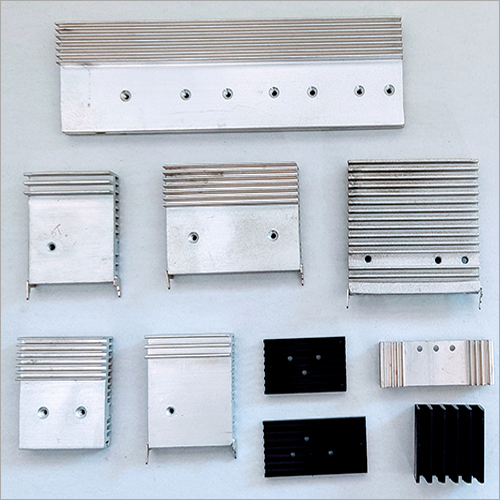 Aluminium Section Extrusion Part