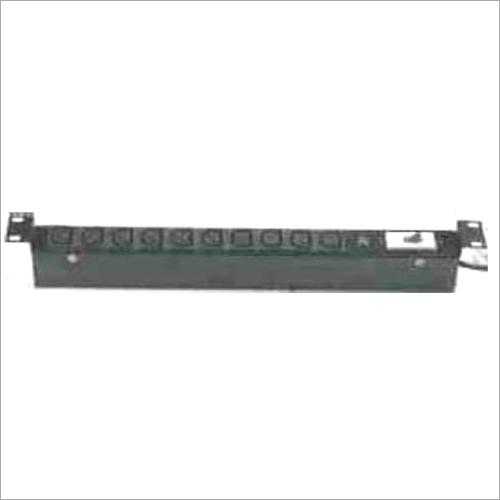 19 Inch Horizontal 10 Socket IEC C13 10 Amp Universal Power Distribution Unit