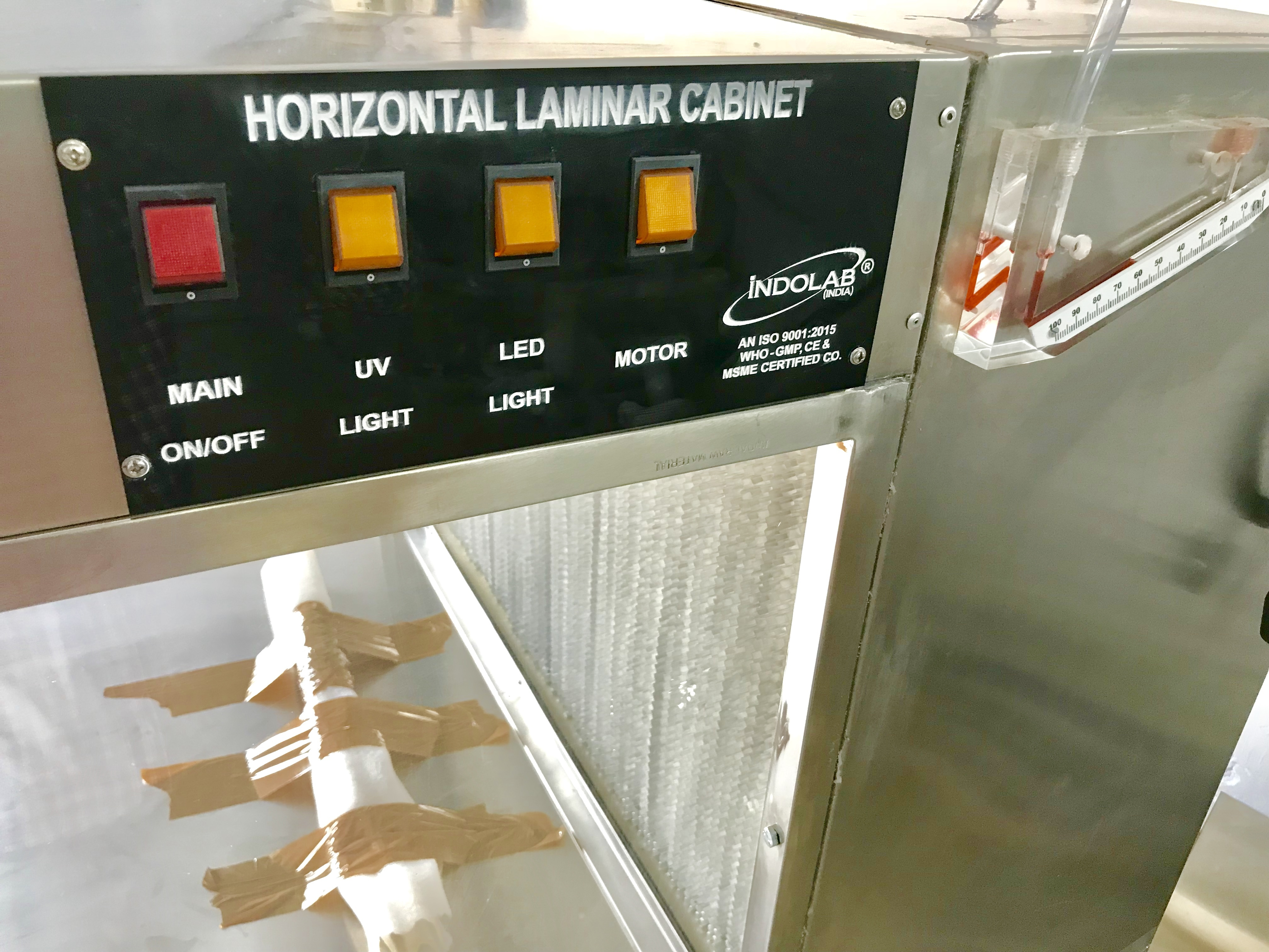 HORIZONTAL LAMINAR AIR FLOW