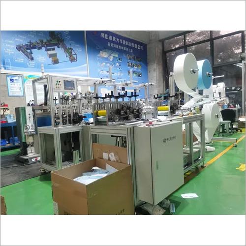Semi Automatic Flat Mask Printer