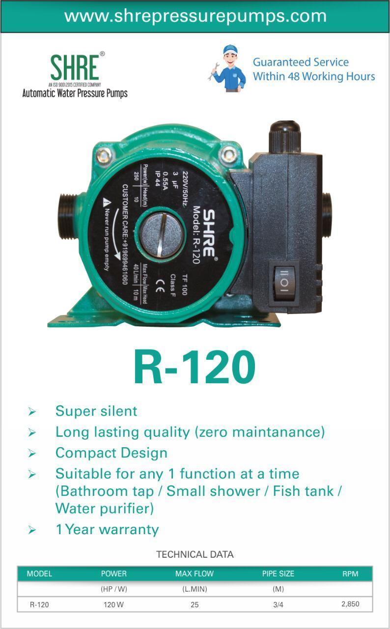 automatic water pressure pump ( circulation pump )