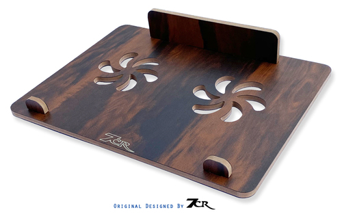Wooden Folding Laptop Stand