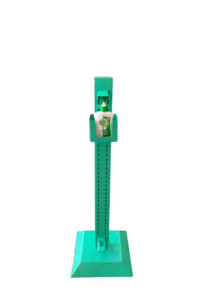 Foot Operated Hand Sanitizer Dispenser Stand