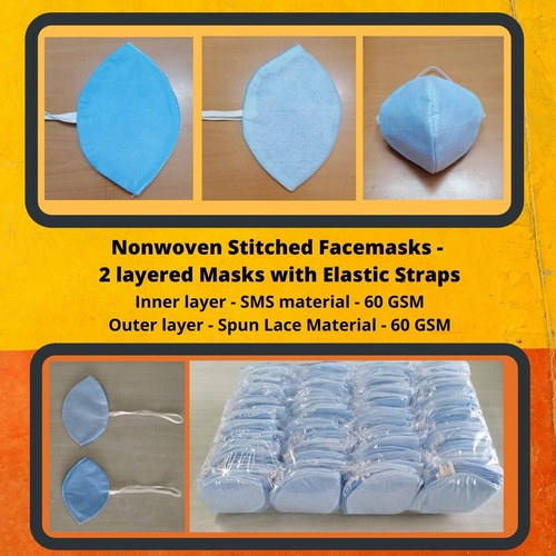 Non Woven Face mask with elastic strap