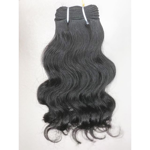 Natural Curly Machine Weft Hair
