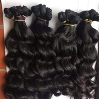 RAW INDIAN DEEP WAVY HAIR EXTENSIONS