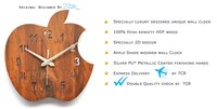 Apple Shape Wall Clock