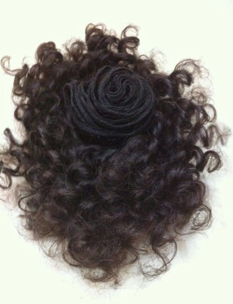 Black Curly Hair