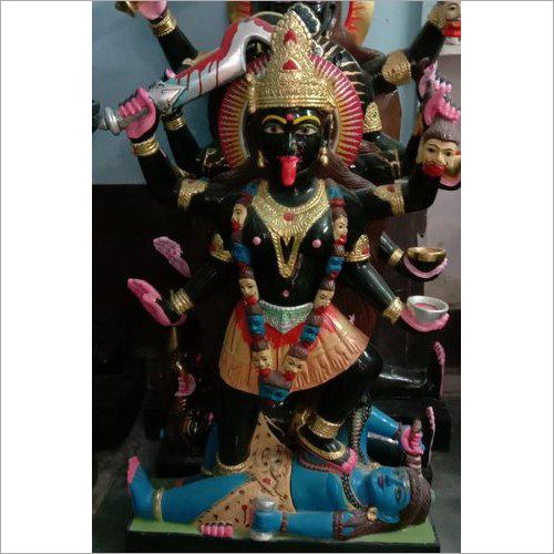 Black Marble Kali Maa Statue