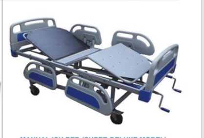 MANUAL ICU BED (SUPER DELUXE MODEL)