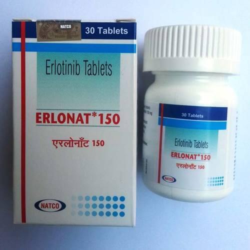 150 mg Erlonat Erlotinib Tablets
