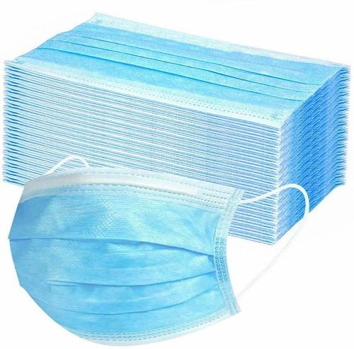 Surgical Masks 3 Layer Thick Mask Medical Masks Disposable Face Masks with Elastic Ear Loop Disposable Dust & Filter Safety Mask