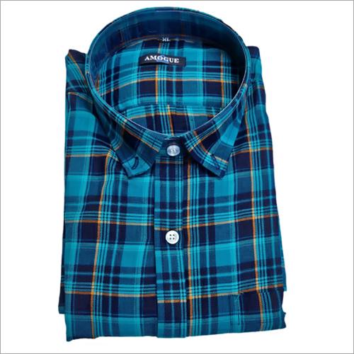 Ladies Cotton Check Shirt