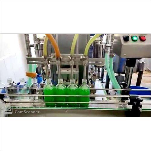 Hand Sanitizer Liquid Filling Machine