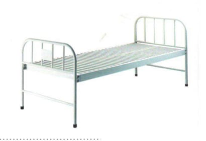 Hospital Plain Bed Ss Panel