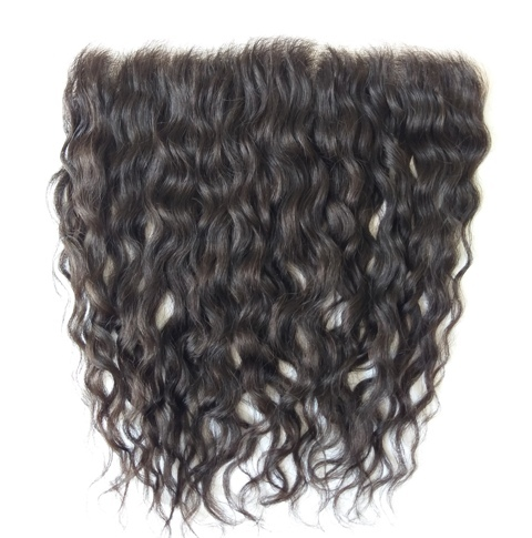 Natural Wave Lace Frontal knots bleached HD Frontal