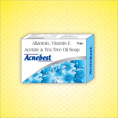 75 GM Allantoin Vitamin E Acetate And Tea Tree Oil Soap