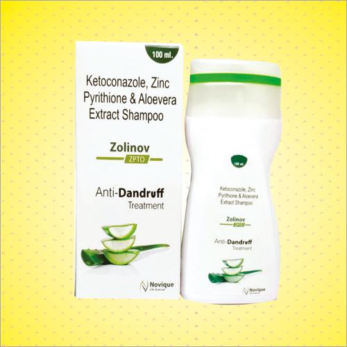 100 ML Ketoconazole Zinc Pyrithione And Aloevera Extract Shampoo