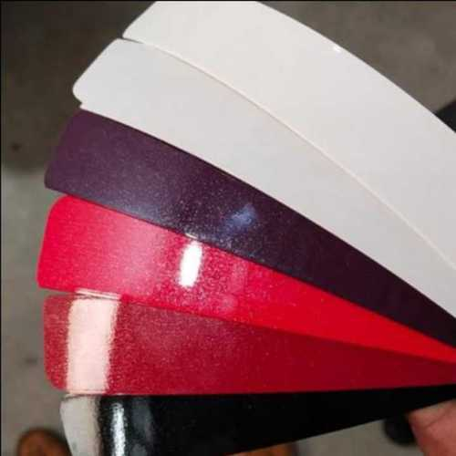 Sparkle edge banding tapes